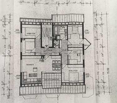 Erstbezug nach Sanierung mit Terrasse: ansprechende 5-Zimmer-Dachgeschosswohnung in Filderstadt