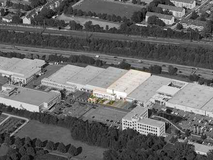 Effiziente Lager-/Logistikhalle mit Büro in Duisburg-Großenbaum, TOP! Autobahn-Anbindung