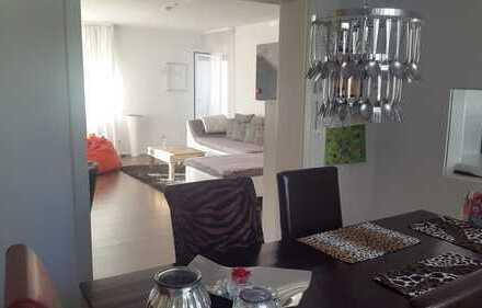 Modernisierte 3,5-Zimmer-Hochparterre-Wohnung mit Balkon in Giengen an der Brenz