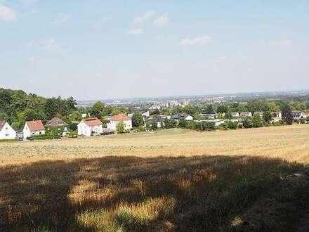 Herrliches Baugrundstück mit Panoramablick in Bestlage von Bielefeld