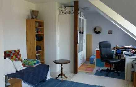 Attraktive 1-Zimmer-Dachgeschosswohnung mit EBK in Erlenbach