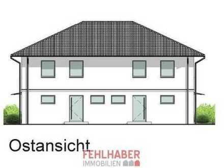 Moderne Doppelhaushälfte (Neubau) mit 2 Vollgeschossen in Wackerow nahe Greifswald