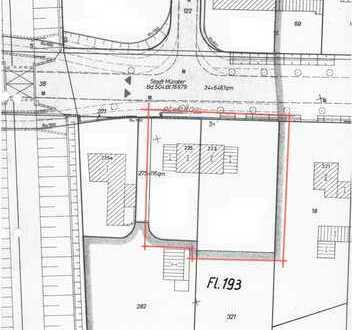 Grundstück, derzeit bebaut (Doppelhaus) - Liquidation
