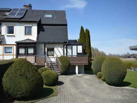 Haus mit großem Garten in unverbaubarer Lage in Bad Schussenried