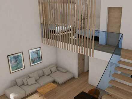 Galerie-Wohnung mit Balkon(en) - extravagant und lichtdurchflutet - Neubau