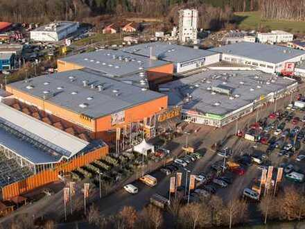 """Attraktive Ladenfläche im etablierten Fachmarktzentrum """"Hochland-Center-Weißig"""" mieten"""