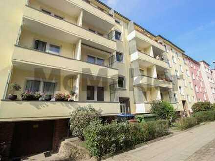 Vermietetes 1-Zi.-Apartment mit 2 Balkonen in zentraler Lage - Verkauf im Paket