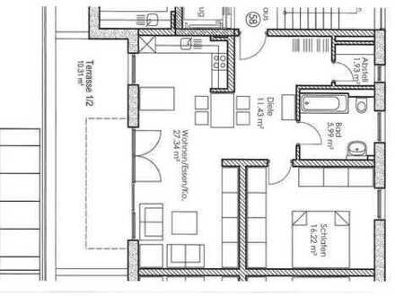 Freising; Penthouse-Wohnung mit Fernblick