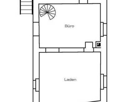 Großes 5-Zi Inselhaus mit Laden + Garten