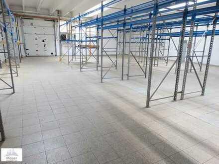 Kalt-Lagerhalle inkl. Hochregallager mit direkter Andienung + Büro-/flächen- Gewerbegebiet Oberursel