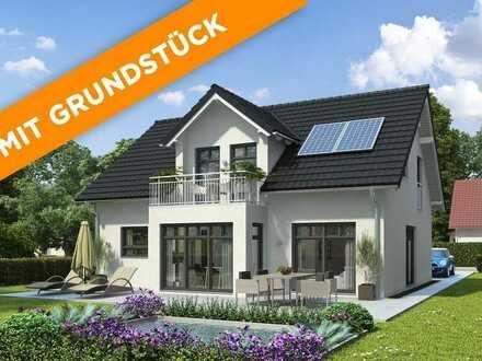 """Massivhaus mit Grundstück """"Stein auf Stein""""   Kommen Sie uns im Musterhauspark Fellbach besuchen"""