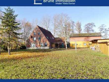 BRUNE IMMOBILIEN - Wurster Nordseeküste-Cappel: Deichnaher Resthof für Pferdeliebhaber