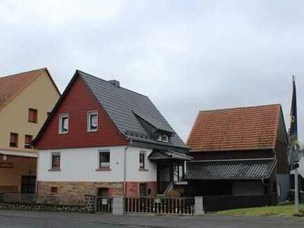 freistehendes Einfamilienhaus unweit von Alsfeld zu verkaufen