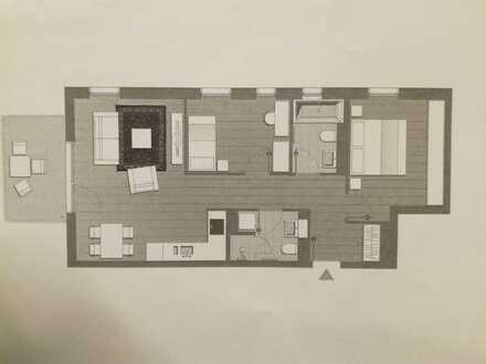 Exklusive, neuwertige 3-Zimmer-Wohnung mit Balkon und EBK in guter Lage (Bonn-Duisdorf)