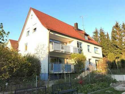 4-Zimmerwohnung mit Süd-Balkon und Einbauküche in Erlangen-Dechsendorf