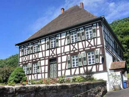 Repräsentative Fachwerkvilla zu vermieten - Altes Forstanwesen in Eppenbrunn