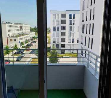 Stilvolle, neuwertige 1-Zimmer-Wohnung mit Balkon und Einbauküche in Regensburg