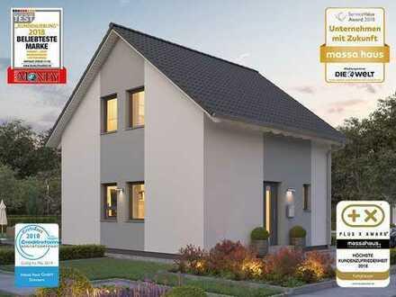 Bauen auch ohne Eigenkapital - Ihr Traumhaus vom deutschen Ausbauhaus-Marktführer!