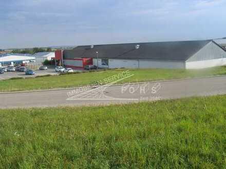 Ladenflächen 850 m²(teilbar) neben Discounter + 120 Parkplätze in Vöhringen/Württ.(projekt.)
