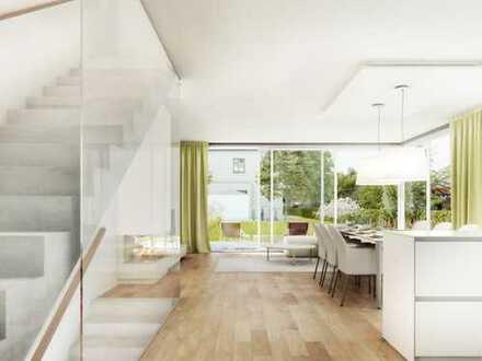 Exklusives Neubau-Einfamilienhaus in attraktiver Wohnlage, real geteiltes Grundstück!!