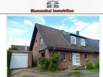 Anders als andere ! Schöne Doppelhaushälfte in attraktiver, verkehrsarmer Wohnlage von KR-Hüls !