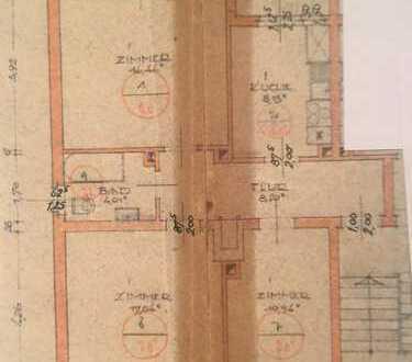 3-Zimmer-Erdgeschosswohnung mit EBK, Diele, Bad in Darmstadt