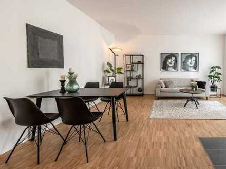 Lage erleben und Zuhause ankommen - 2,5-Raum-Wohnung mit Bad en Suite und Balkon