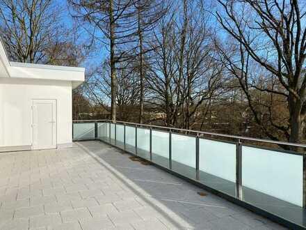 Attraktive Neubau-3-Zimmer-Wohnung mit großer Dachterrasse!