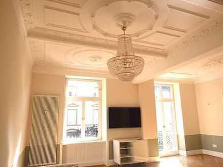 Luxuriöse Wohnung in exzellenter und ruhiger Lage in Frankfurt !