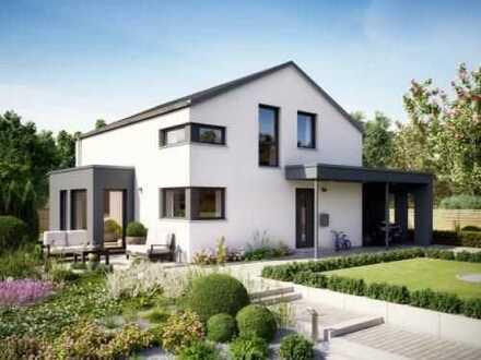 Schicker Neubau in Ortsrandlage von Schopfloch