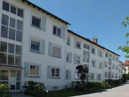 Vermietete kleine 2-Zimmer- Dachwohnung als Kapitalalanlage in Aschaffenburg-Damm