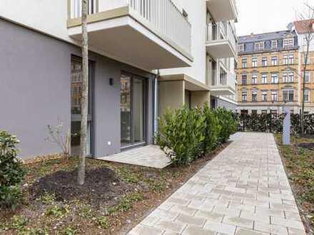 Perfekte Terrassenwohnung mit EBK & Wanne & Abstellraum!