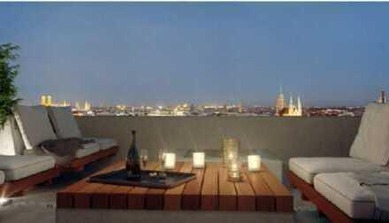 Möblierte Luxus Wohnung - in den Friends Towers - ab sofort frei! Top Lage!