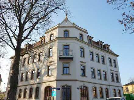 Dresden-Cotta: 4-Raum-Maisonette mit Balkon und Einbauküche
