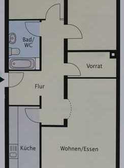 Gepflegte 3-Zimmer-Wohnung mit Balkon und EBK in Waldshut-Tiengen