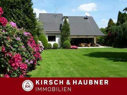 Parkähnliches Grundstück!  Stilvolles Architektenhaus inkl. Schwimmbad, Schwarzenbruck