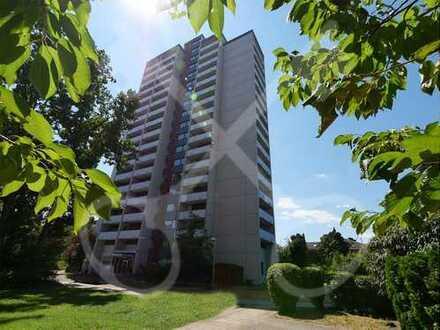 Helles, gemütliches 1(-2) Zimmer Apartment in Niederrad