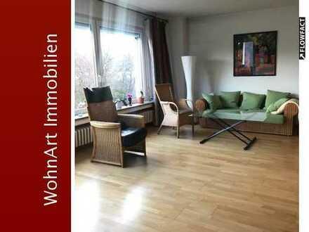 Schicke 3,5 Raum Wohnung mit Balkon und Einbauküche Nähe Uni