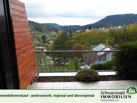 2-Zimmerwohnung in Aussichtslage in 72275 Alpirsbach