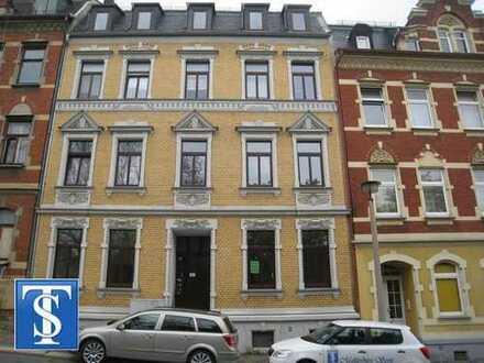 95-1/12 - vermietete schöne 4-Zimmer-Dachgeschoss-ETW im Herzen von Plauen