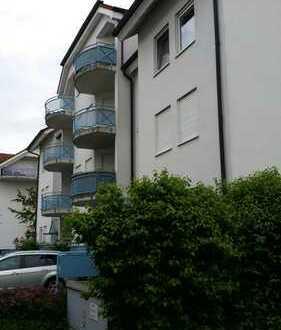 Gepflegte 3-Zimmer-Wohnung mit Balkon und EBK in Sandhausen
