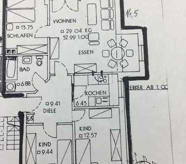 Günstige 4-Zimmer-Wohnung in Burglengenfeld