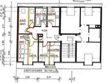 Erstbezug nach Sanierung: stilvolle 3-Zimmer-Dachgeschosswohnung in Stuttgart
