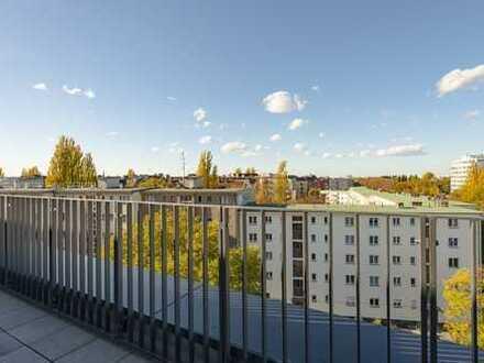 Modern möbliertes Apartment mit Dachterrasse - Neubau-Erstbezug