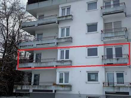 Sofort frei! Stadtnahe 3-Zimmer-Wohnung mit 3 Balkonen und schöner Aufteilung!