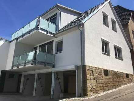Neubau/Erstbezug: Sehr schöne 2 Zimmer (71,5 qm) Wohnung inkl. EBK in Cleebronn, Heilbronn (Kreis)