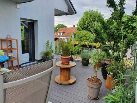 Attraktive 4-Zimmer-Wohnung mit 40qm Dachterrasse