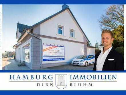 Wohn-u.Geschäftshaus - Nettomieteinnahmen 45.800 € p.a. + Ausbaupotential in 22145 Hamburg-Meiendorf