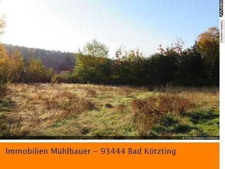 Baugrundstück zwischen Ramsried und Rimbach in herrlicher Lage