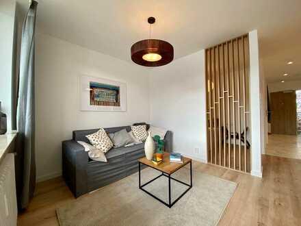 Erstbezug nach Renovierung: 1-Zimmer-Wohnung mit Schlafbereich in Lauf